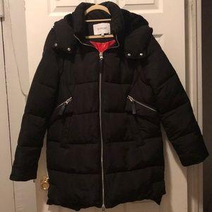 Derek Lam 10 Crosby black winter coat